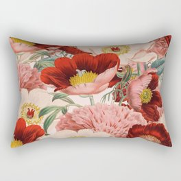 Vintage Garden #society6 Rectangular Pillow