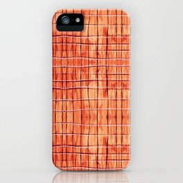 Red Chile Plaid iPhone Case