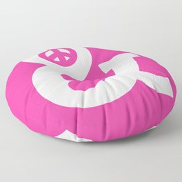 Peace and Love (pink edition) Floor Pillow