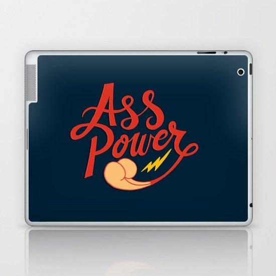 Ass Power Laptop & iPad Skin