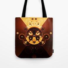 Ying-Yang Gold Cross Version Tote Bag