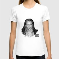 lindsay lohan T-shirts featuring lYNDSAY lOHAN IS better THAN you by Tiaguh