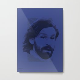 World Cup Edition - Andrea Pirlo / Italy Metal Print