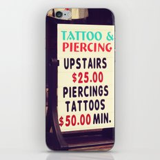 Tattoo & Piercing iPhone & iPod Skin