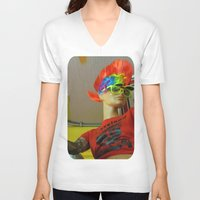cleveland V-neck T-shirts featuring Cleveland Rocks by Nevermind the Camera