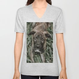 Dog Unisex V-Neck