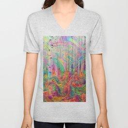 Hipster Forest Unisex V-Neck