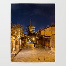 Yasaka-no-to Pagoda Poster