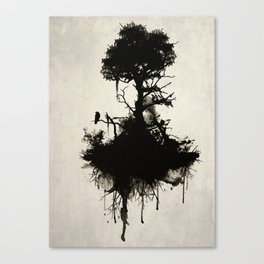 Last Tree Standing Canvas Print