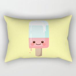 Kawaii melting popsicle Rectangular Pillow