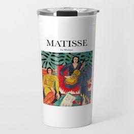 Matisse - La Musique Travel Mug