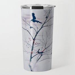 WHITEOUT/light grey Travel Mug