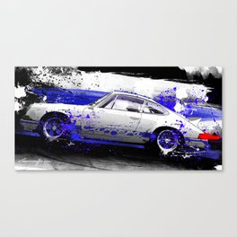 PORSCHE Carrera RS 1972 Canvas Print