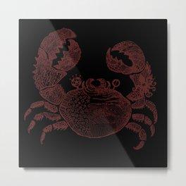 sea crab Metal Print