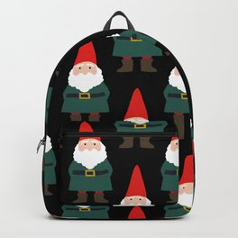 Gnome Repeat in Black Backpack