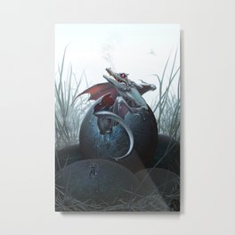 Hatchling Metal Print
