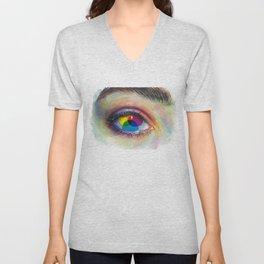 Eye of an artist Unisex V-Neck