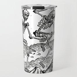 Danse macabre - Michael Wolgemut Travel Mug