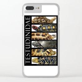 Tortoises of the World II Clear iPhone Case