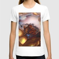 minerals T-shirts featuring Colorful Gemstone by Kristiana Art Prints