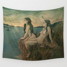Nereids Wall Tapestry