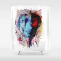 persona Shower Curtains featuring Persona by DesArte