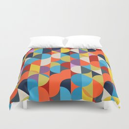 Simple Circle Pattern. Duvet Cover