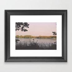 Banyoles Lake / I Framed Art Print