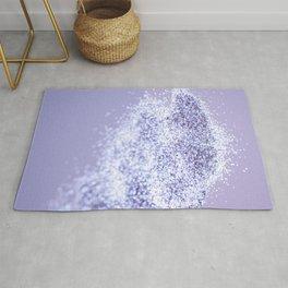 Sparkling Violet Glitter #1 #sparkling #decor #art #society6 Rug