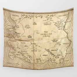 Map of Imirillia Wall Tapestry