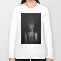 the thing Long Sleeve T-shirts featuring Thing 1 by Spoken in Red
