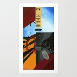 Chris Henderson Arts Art Print