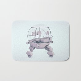 Hip to be square Bath Mat
