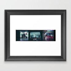 Home Collage 1 Framed Art Print
