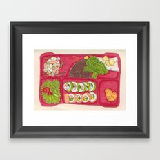 BentoBox Sushi Framed Art Print