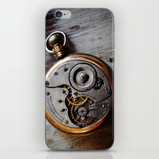 The Conductor's Timepiece - 1 iPhone & iPod Skin