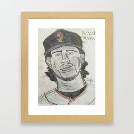 Michael Morse Framed Art Print