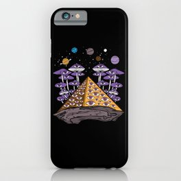 Psychedelic Pyramid iPhone Case