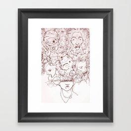 Drew Framed Art Print