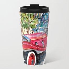 Red antique car Travel Mug
