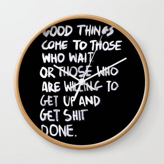Good Things Wall Clock