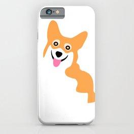 Corgi Smile iPhone Case
