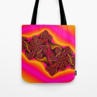 tequila Tote Bags featuring Tequila Sunrise by Christy Leigh