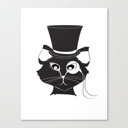 The Cat's Meow Canvas Print