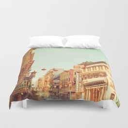 Chinatown, San Francisco, ca Duvet Cover