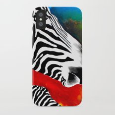 Zebra Slim Case iPhone X