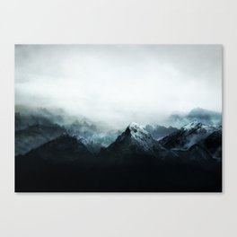 Mountain Peaks Canvas Print
