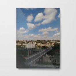 - city 50 - Metal Print
