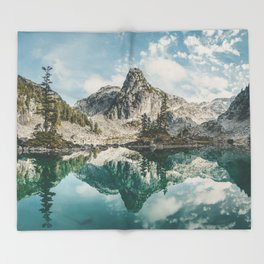 Watersprite Lake Throw Blanket