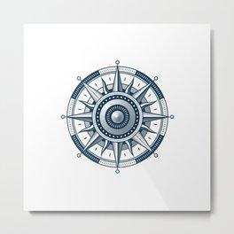 wind rose Metal Print